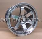 High quality replica alloy wheels te37 18*9.5 5*100/114.3