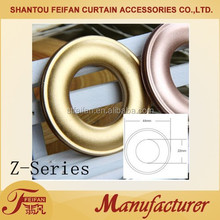 Z Series plastic eyelet curtain eyelet accessories for curtain