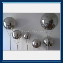 stainless steel metal ball fountain for wedding decoration/Manufacturer supply complete specifications of hollow metal ball