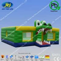 Inflatable Taurus Ring Castle