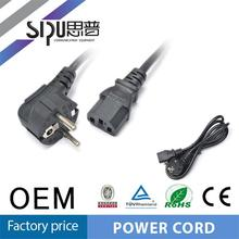 SIPU High quality European Style ps3 ac power cord
