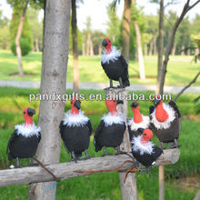 feathered vulture birds decorative birds for crafts
