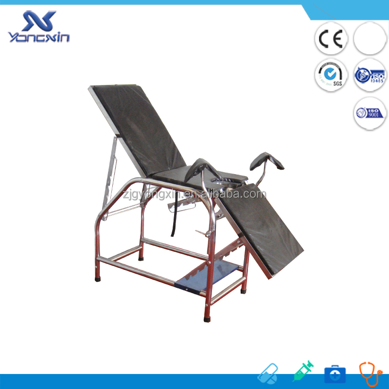 Stainless Steel Portable Gynecological Exam Chair yxz 004