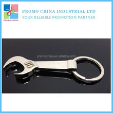 Funny Creative Wrench Shape Tool Wine Bottle Opener With Keyring For Souvenir Promotional Gift