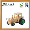 2015 hot selling high quality Educational wooden tractor model toy