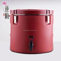 Round barrel beverage cooler Stainless steel and plastic round barrel cooler Barrel cooler