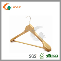 Wooden hanger in natural finish