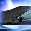 black taffeta190T fabric front window car cover with good quality