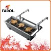 Charcoal balcony hanging bbq grill