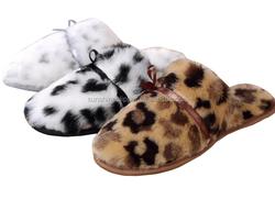 2016 winter ladies plush hard sole indoor slippers