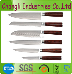 Super quality Japanese damascus VG10 kitchen knife set