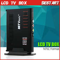 HD LCD Analog External TV Box / TV Tuner for LCD and CRT monitor,Digital computer TV Program Receiver (NTSC Format)
