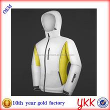 100% Nylon Taslon outdoor jacket ladies ski/snow hoodie women waterproof jacket