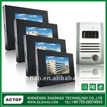 The Newest 2012 touch 7 inch video door phone