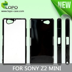 2D Sublimation Heat Transfer Blank Phone Case for Sony Z2 compact