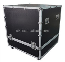 Hot Sale Large Instrument Aluminum Flight Case with Push Fields