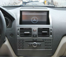 Dashboard dvd player for mercedes w204 with radio ipod tv dvt-t2 wifi