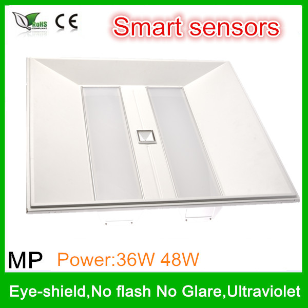 2014 New Design For German market Smart Sensors 36W led flat panel lighting