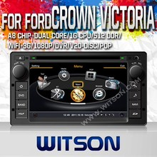 WITSON FOR FORD CROWN VICTORIA 2008-2012 LOW PRICE CAR DVD WITH GPS WIFI 1.6GHZ FREQUENCY DVR SUPPORT WIFI APE MUSIC RAM 8GB