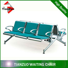 TianZuo airport steel bench best selling for projects
