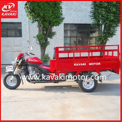 India Electric Cargo Rickshaw Bike With 1.2X1.8m Cargo Box Trike Bike