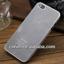 0.3mm only Ultra Thin Titanium Alloy metal mesh case for Apple iPhone 5 5G
