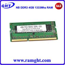 parte de una computadora entrega rápida del ordenador portátil 4 gb de ram ddr 3