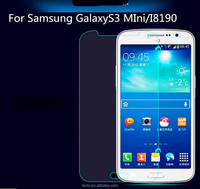 Hot sale Tempered Glass Screen Protector Film For Samsung GalaxyS3 MIni/I8190