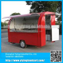 YY-FS290B 2015 fast food snack food mobile street food vans