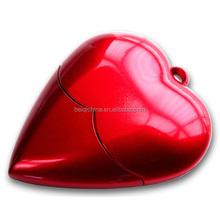 heart shapes USB flash drive wholesales USB flash memory