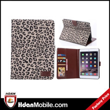 new products cover case for ipad mini 3 waterproof bag, for ipad mini 3 Leopard design printing