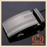 Factory offer automatic buckle belts fancy simple leisure men belts belt