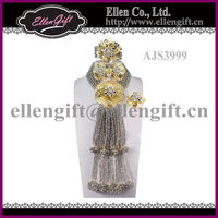 African Handmade Bridal Party Jewelry Set AJS3999