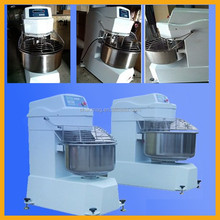 50L Commerical Double Speed Two Motors Automatic Small Spiral Stand Dough Mixer Machine