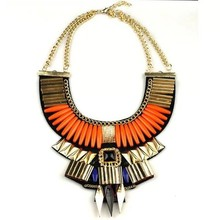 Gem of brief paragraph nations wind necklace, Bohemian style