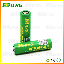 Hmeng 2015 best 18650 battery 3.7v electric scooter rechargeable battery