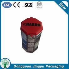 Factory Produced 0.23Mm Tinplate Or Customized Coffee Tin / Tea Tin
