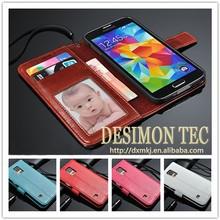 nuevo producto shenzhen comercio del alibaba garantía teléfono móvil funda de cuero para samsung galaxy s5
