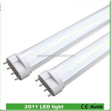 Most popular best selling CE,ROSH,EPISTAR 2012 dc 12volt 22w 2g11 tube lamp