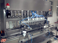 factory price automatic chutney bottle filling machine with CE ISO9001
