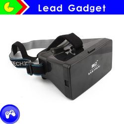 """2015 Brand New Google Cardboard Vr Box Version Virtual Reality 3d Glasses Rift 3d Movies 3d Games Movie For 3.5-5.7"""" smart phone"""