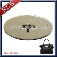 custom hardware lock for bag accessory