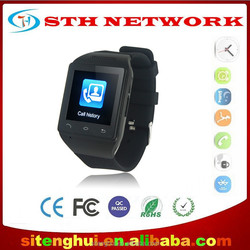 S18 Smart Watch Phone Capacitive Touch Screen Bluetooth GSM Smart Watch Mobile Phone