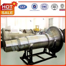 forged hollow shaft & axles of ball grinding mill