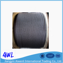 304 7x19 8mm stainless steel cable for stainless steel wire rope sling