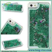 Hot Sale Bling Bling 3D Quicksand and Stars Moving Glitter Case for iPhone 6