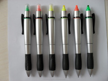 Nolvety normal shaped pen with highlighter Ch-6201