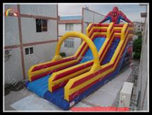 inflatable spiderman slide / inflatable slide