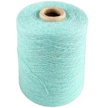 Staple dyed Wool/Polyester blended yarn for carpet