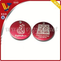 2014 New design unique dog gifts for dog lovers with qr code pet dog tags